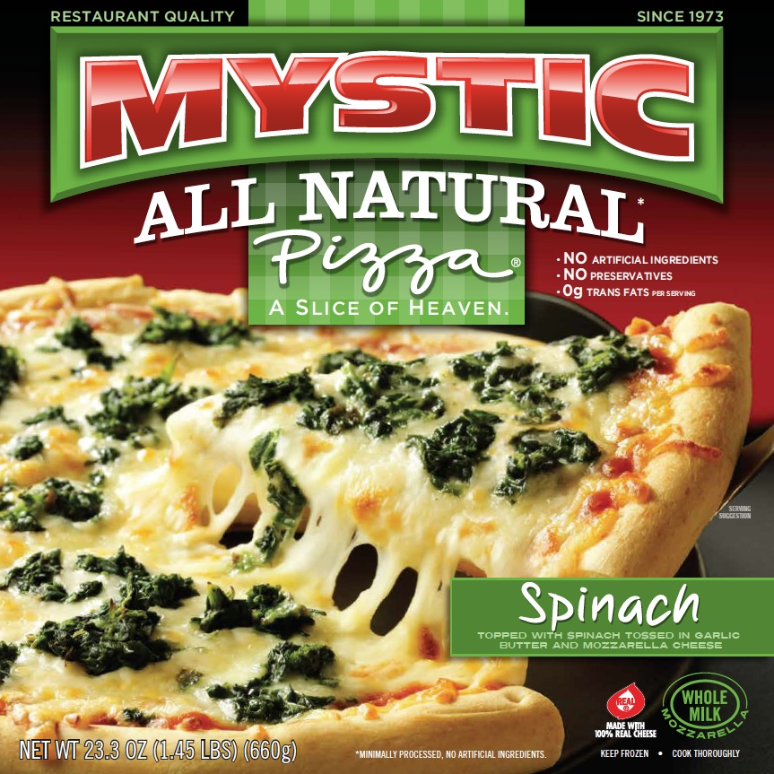 Mystic Pizza Spinach Flavor